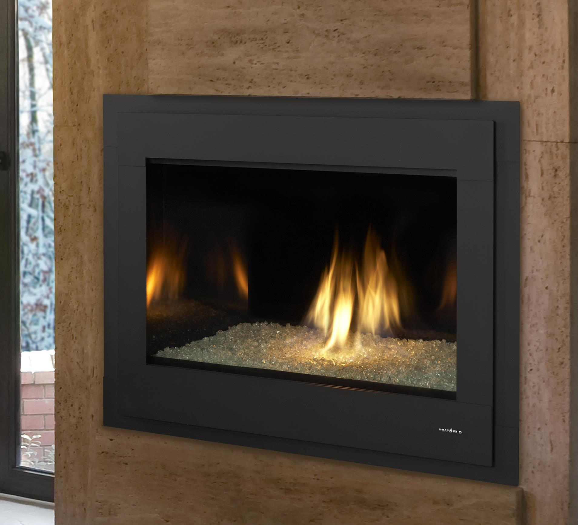 Gas fireplaces 8000 modern kastle fireplace for Gas modern fireplace