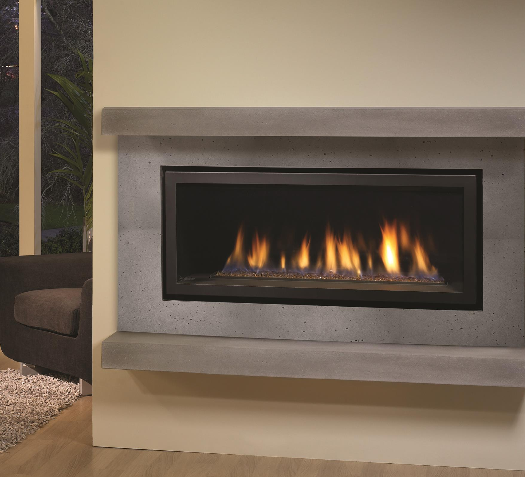 gas fireplaces horizon hz40e kastle fireplace