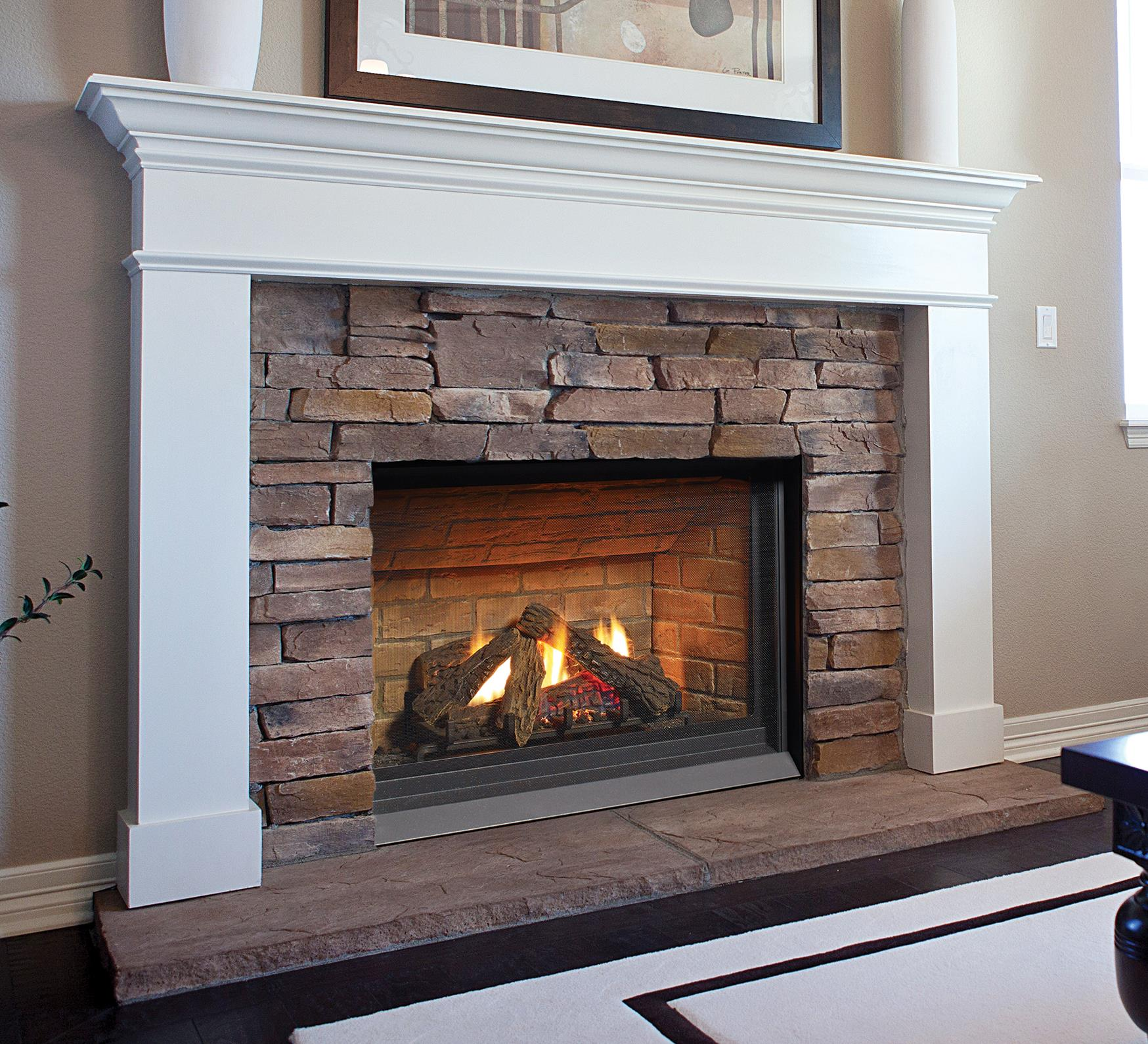 Gas Fireplaces Panorama P33ce Kastle Fireplace