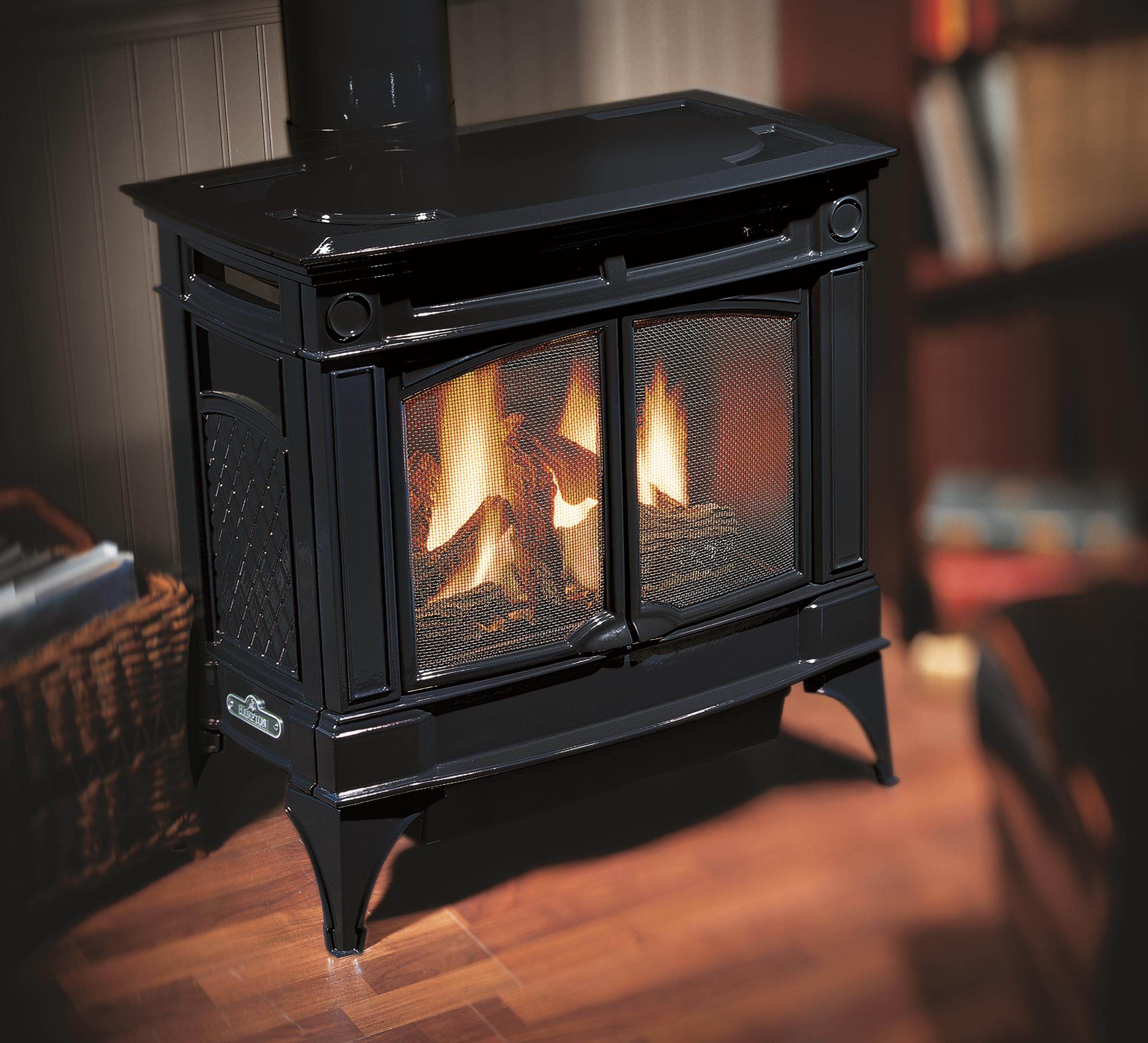 stoves large midnight in gas blue kastle hampton enamel fireplace stove