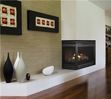 CORNER GAS FIREPLACE | INDOOR FIREPLACES | COMPARE PRICES
