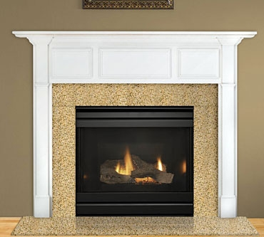 Heat & Glo Carolina Gas Fireplace – Wood Heat