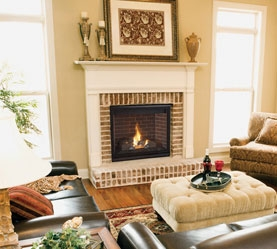 Superior | Contemporary Fireplace