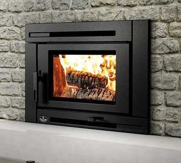 Kastle fireplace wood inserts matrix wood insert for Contemporary wood fireplace insert