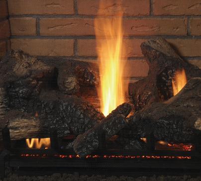 Gas fireplaces montebello see through kastle fireplace for Montebello fireplace