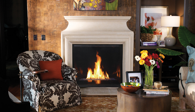 Gas Fireplaces Montebello Dlxcd Kastle Fireplace