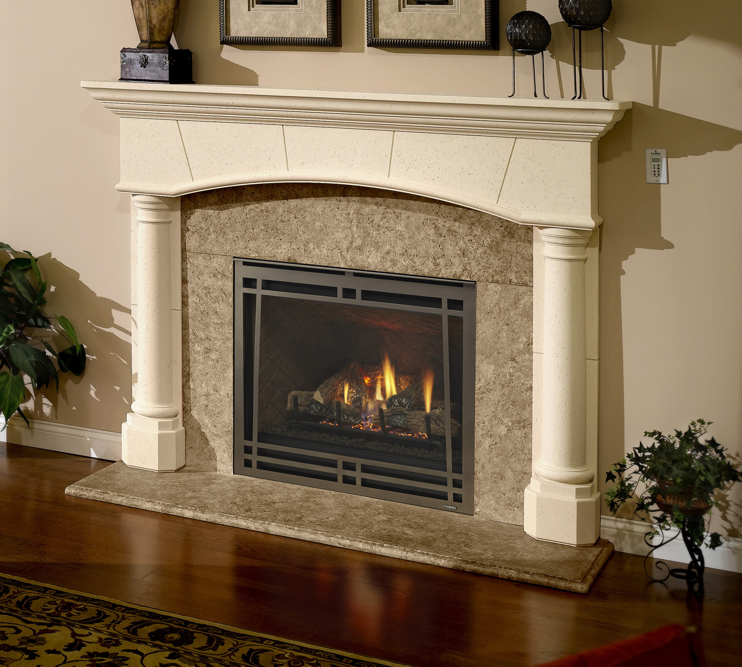 design art fireplace large feb column glo n hearth and gas fireplaces heat color flush graphics lighting unobstructed photo dulley a offers face installation clean heatilator view htm credit accent vent