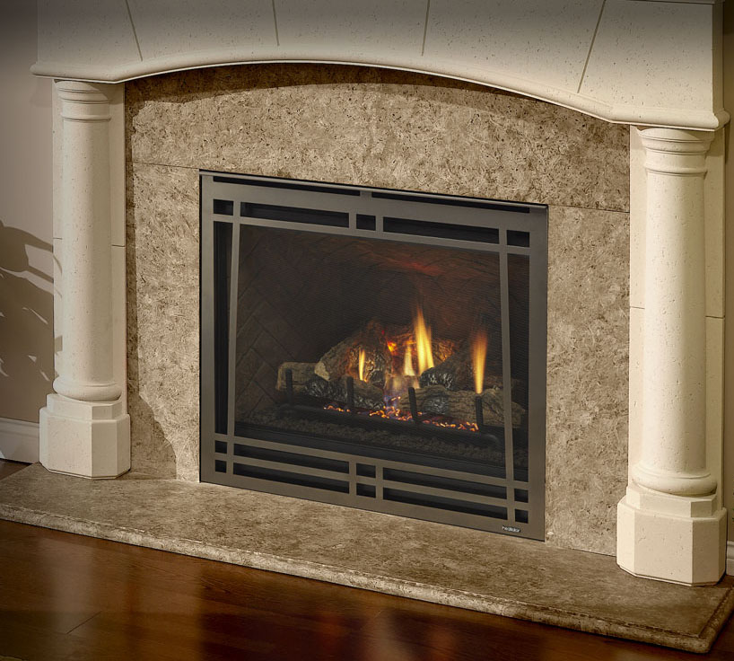 Gas fireplaces caliber nxt kastle fireplace for Craftsman gas fireplace