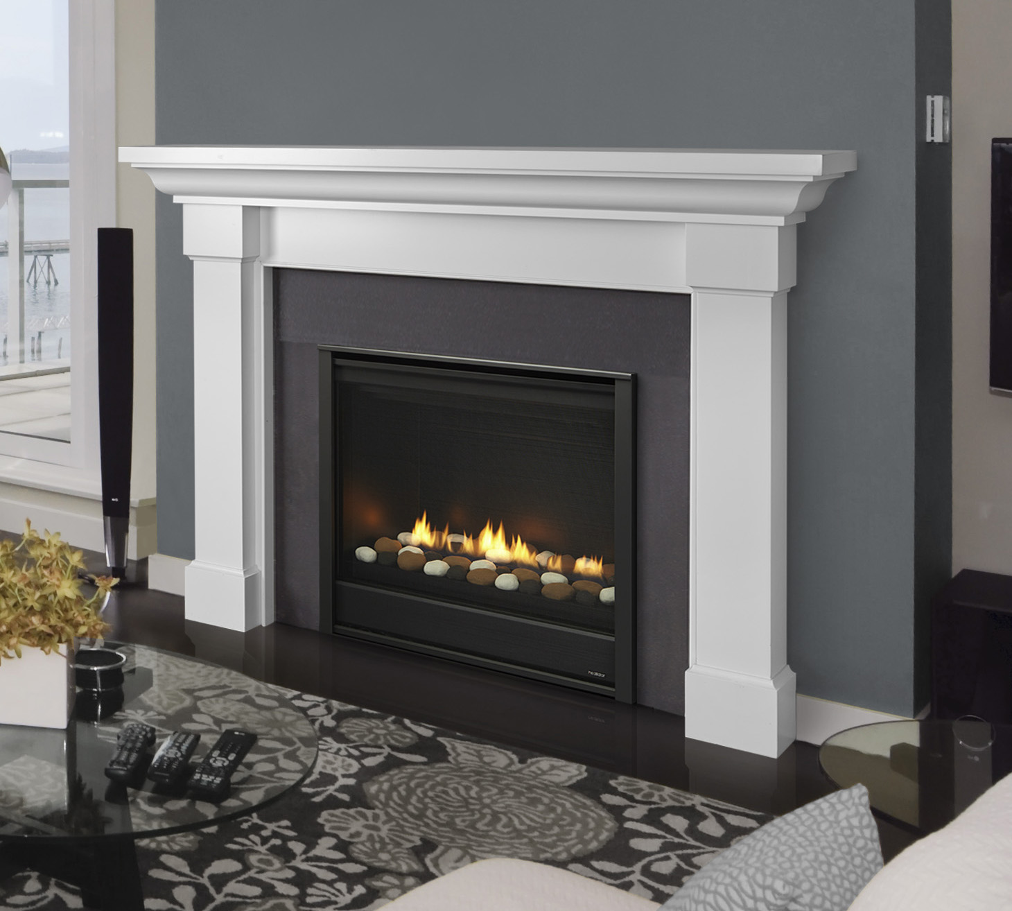 Gas Fireplaces - Eclipse - Kastle Fireplace