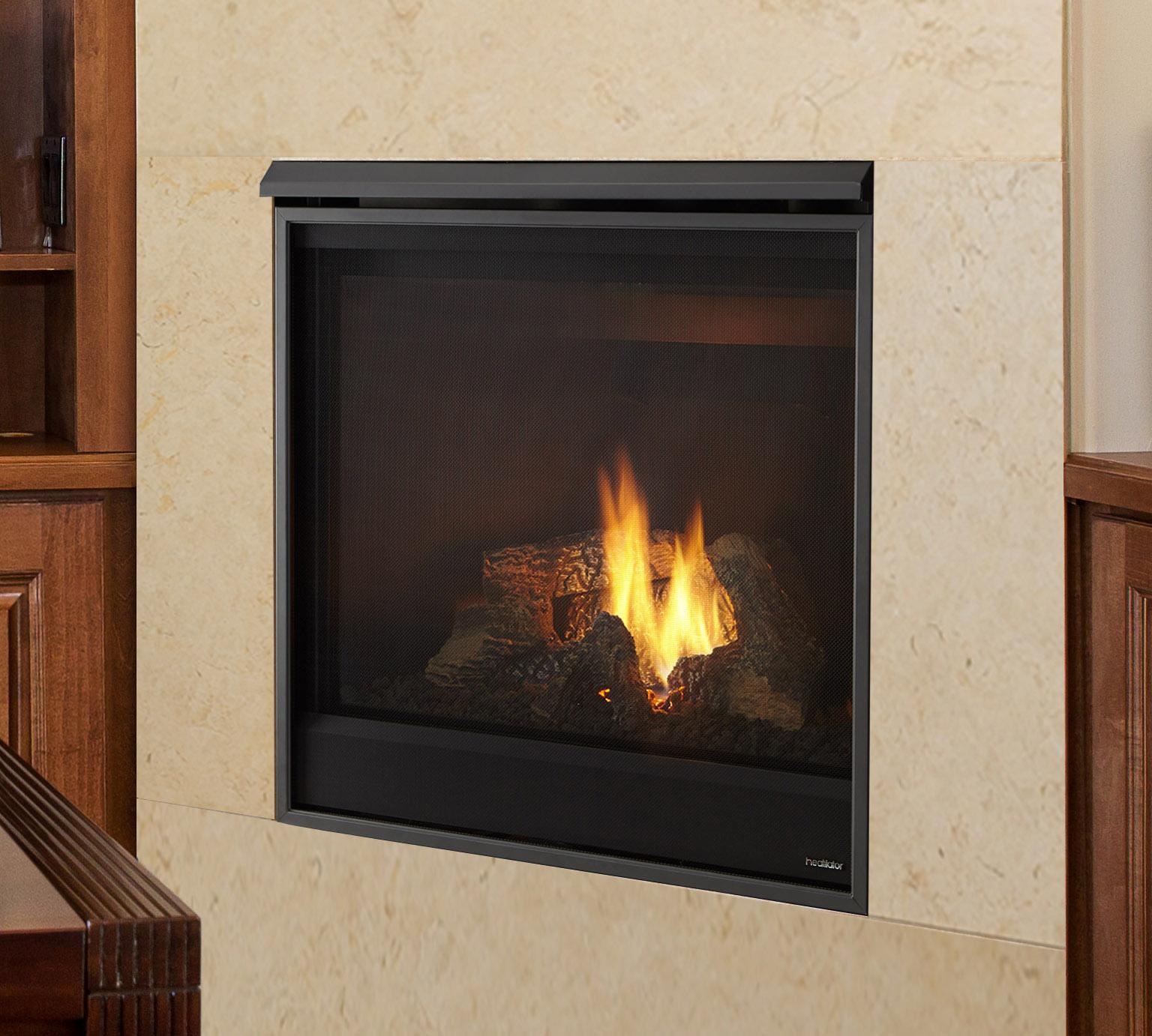 Gas Fireplaces - Novus - Kastle Fireplace