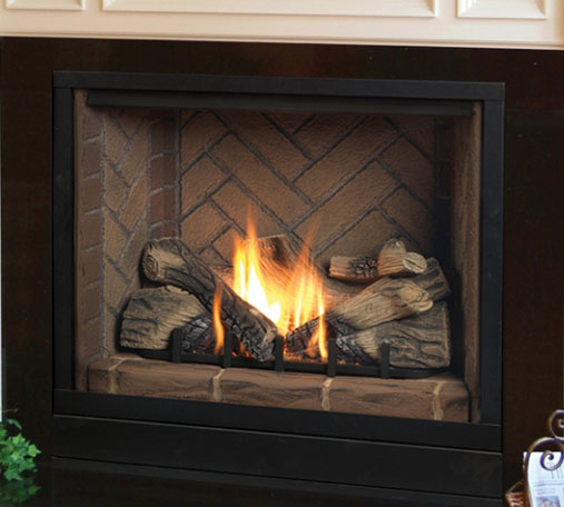 Gas fireplaces solitaire kastle fireplace for Fireplace options