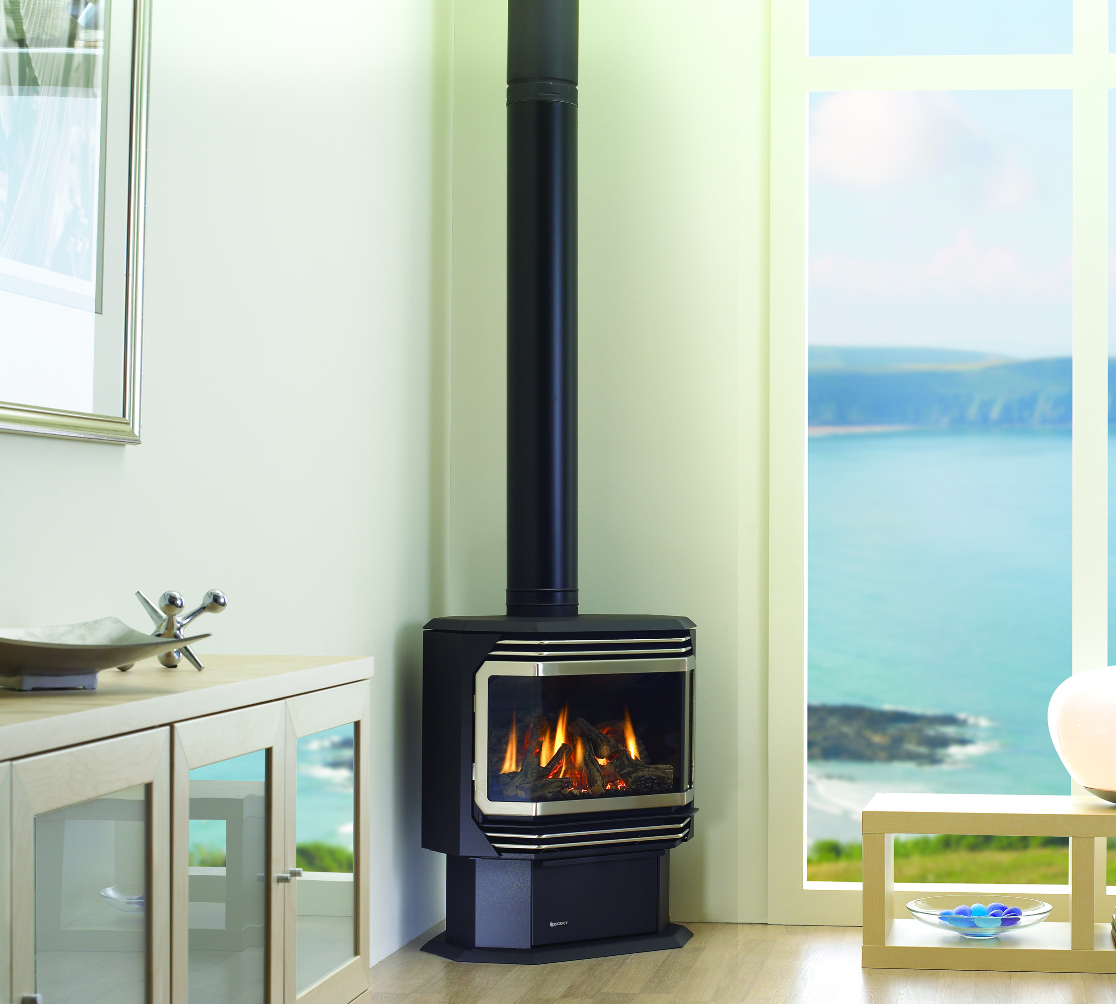 Gas Stoves - Ultimate U38 - Kastle Fireplace