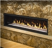 "Linear direct vent gas fireplace available in 36"", 48"", 60"", and 72"" models."