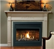 Use the Solara direct vent zero clearance gas fireplace with a classic mantel or wall surround to add sizzle to your home or home office.