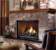 Zero clearance direct vent gas fireplace.  Available in different sizes and fuel types.