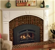 This arch-style gas insert will effectively heat your medium-sized room.