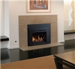 Contemporary gas insert available in 27-inch, 32-inch, and 34-inch sizes.