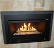 This fireplace insert boasts 35,000 BTU, offers laser-cut faceplates, and utilizes Direct Vent technology.