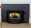 Steel non-catalytic wood burning insert