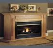 "The ""Forester-inch is a Classic Series cabinet including a three inch hearth base and is available for both flat wall and corner applications."