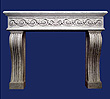 Windsor Arms stone mantel.
