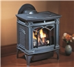 Direct vent gas stove for use in smaller rooms.