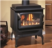 C34 Classic small freestanding direct vent gas stove.
