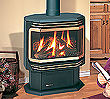 U39 top direct vent medium-sized gas stove.