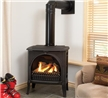 Freestanding gas stove.
